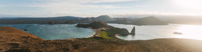 Galapagos Island landscape, Ecuador