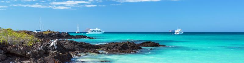 Santa Cruz Islands blue waters, Galapagos Islands, Ecuador