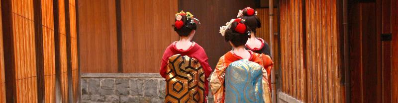 Japan Kyoto Geishas Street