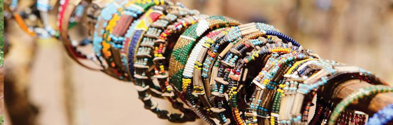 Tanzania, market braclets