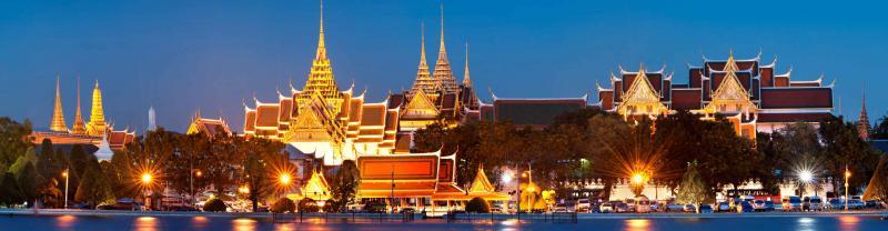 Thailand Bangkok Skylines Temples