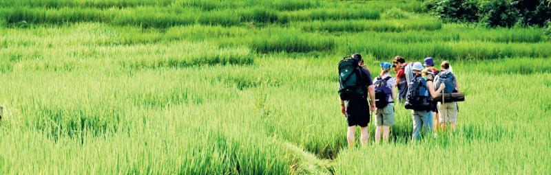 Hilltribe trek, Thailand