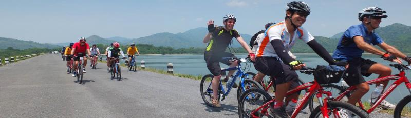 thailand cycling bikes tour group