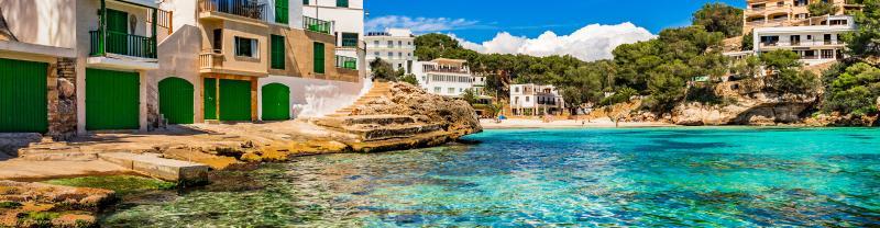 Spain beach side