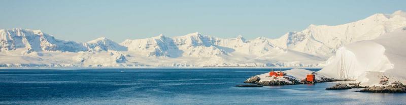 Coastline of the Antarctic Peninsula