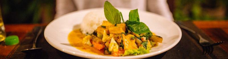 Local cuisine in Siem Reap, Cambodia