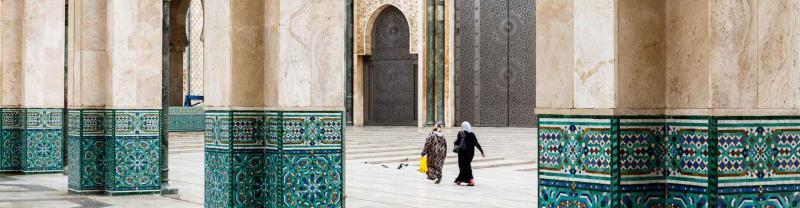 Architecture of Casablanca, Morocco