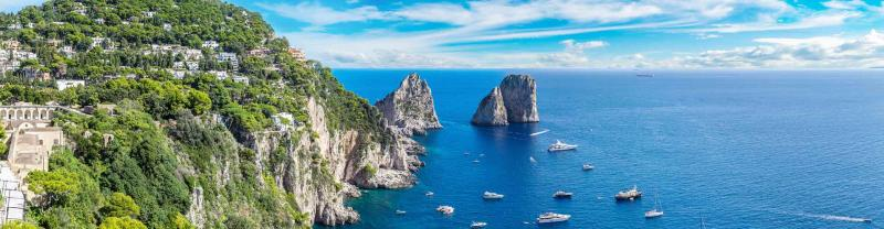 Sail around Capri with Intrepid