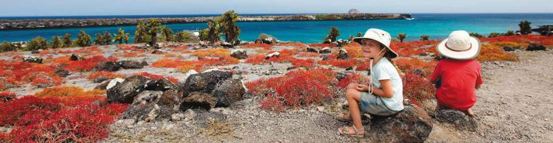 Intrepid family holiday in the galapagos