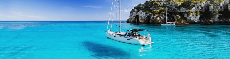 Sailing through the idyllic waters of Greece