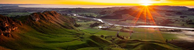 Hawkes Bay in New Zealand