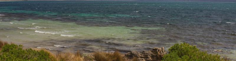 The rugged Kangaroo Island coast in South Australia