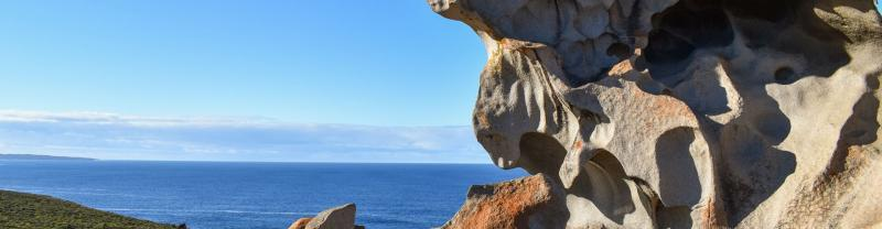 Rock formations on Kangaroo Island in South Australia