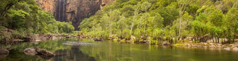 Jim Jim Falls in the Northern Territory