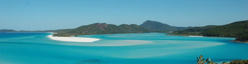 Whitehaven beach in Queensland
