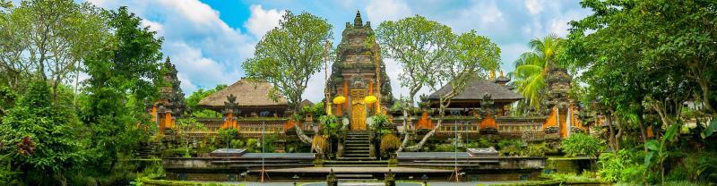Taman Saraswati temple in Ubud, Indonesia