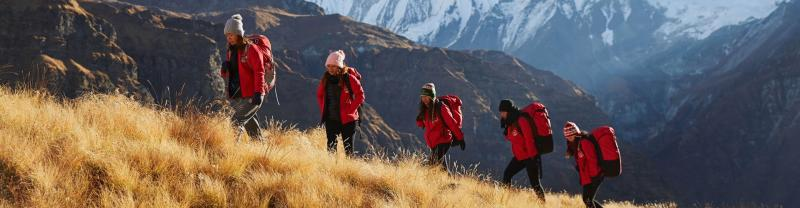 Female trekking porters in Nepal