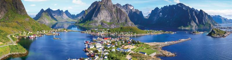 Reine Lofoten Islands in Norway
