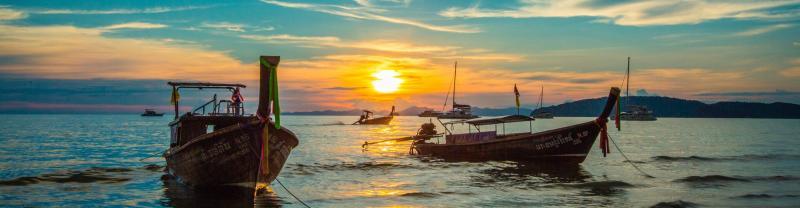 Au Nang sunset, Thailand
