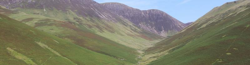 The Honister Pass in the Lake District