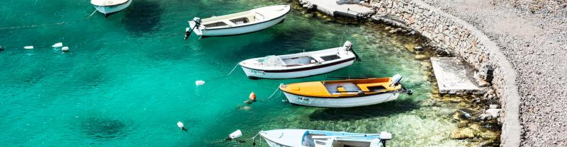Rounded Water Cove Boats - Split, Croatia