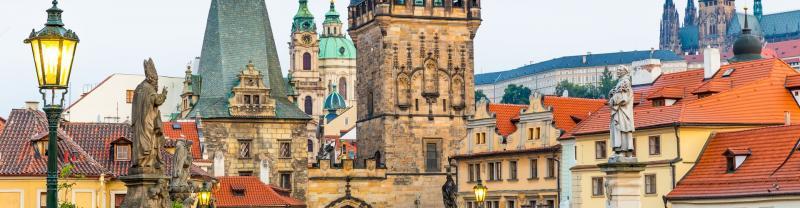 The city of Prague, Czech Repulic