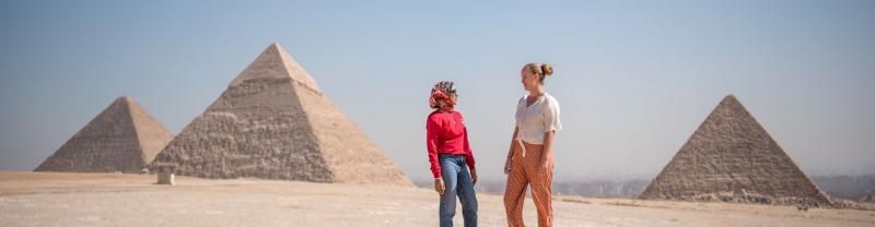 Cairo to MadabaTours with Intrepid Travel