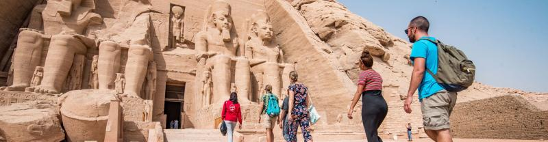 Travellers in Egypt