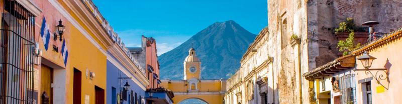 The colourful city of Antigua, Guatemala