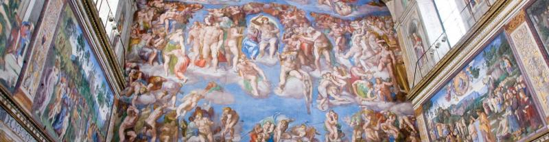 Sistine Chapel in Rome, Italy
