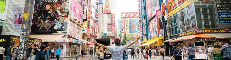 Traveller in Tokyo