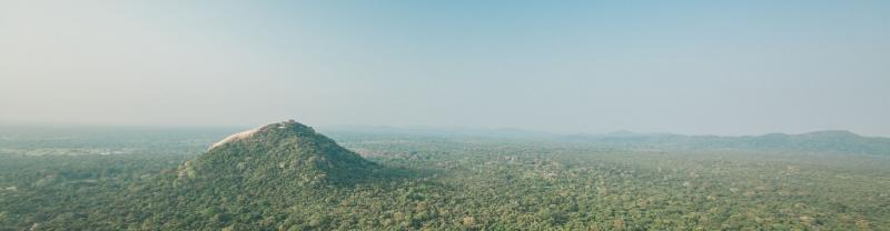 A view of Sigiriya, Sri Lanka