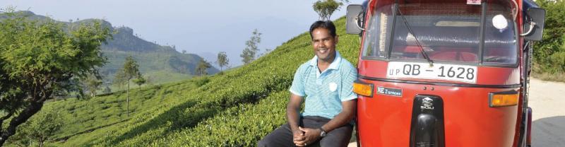 A local Intrepid leader in Sri Lanka