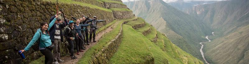 Discover Machu Picchu on the Inca Trail.