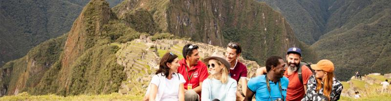 Travellers enjoying an Intrepid Tailor-Made tour in Peru