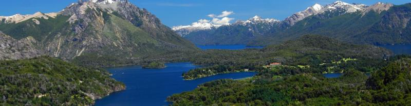 Bariloche mountains in Argentina
