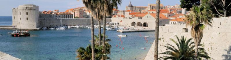 The city of Dubrovnik, Croatia