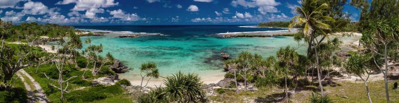 Eton Beach on Efate Island in Vanuatu