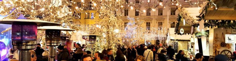 Christmas markets in Zagreb, Croatia