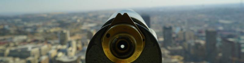 Johannesburg city view