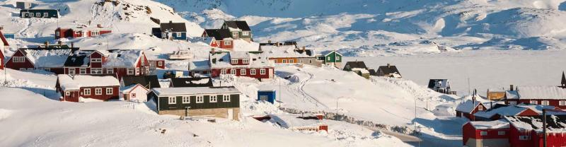 Wintertime in Tasiilaq, East Greenland