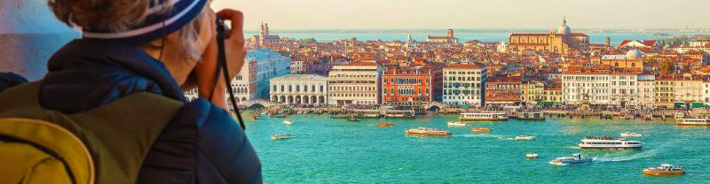 Experience Venice as well as some of the many highlights of Italy