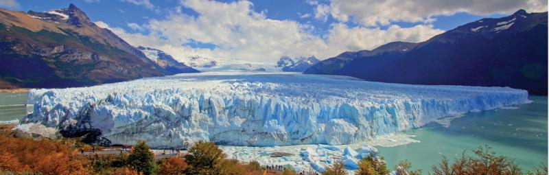 Perito Moreno Glacier Mountain in Argentina