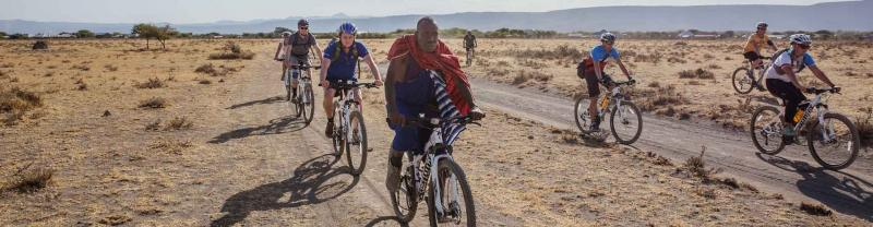 Cycle tour in Tanzania with Intrepid
