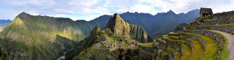 Wild Andes Trek route