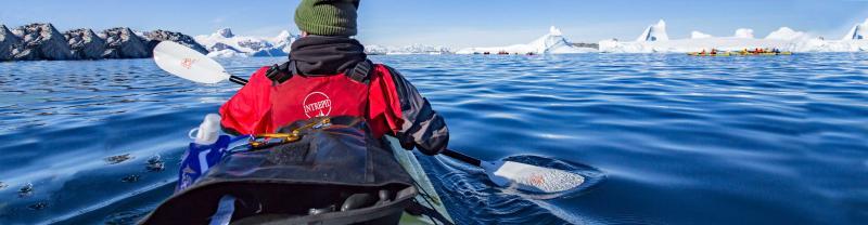 Polar kayaking with Intrepid Travel