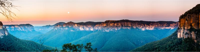 Govett's Leap in the Blue Mountains National Park