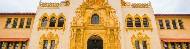 Local architecture of santiago, panama