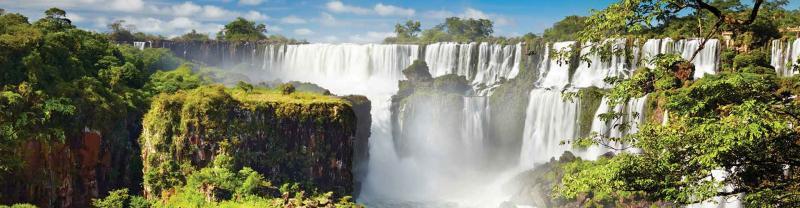 The spectacular Iguazu Falls, Argentina