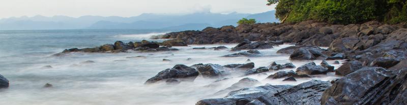 Rocks at the Banana Islands, Sierra Leone
